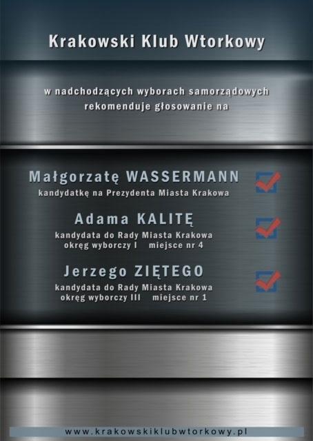 Wybory samorządowe w Krakowie